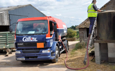 A day in the life of a Callow Oils Driver